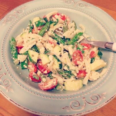 Picnic Pasta Salad - kalelovesquinoa
