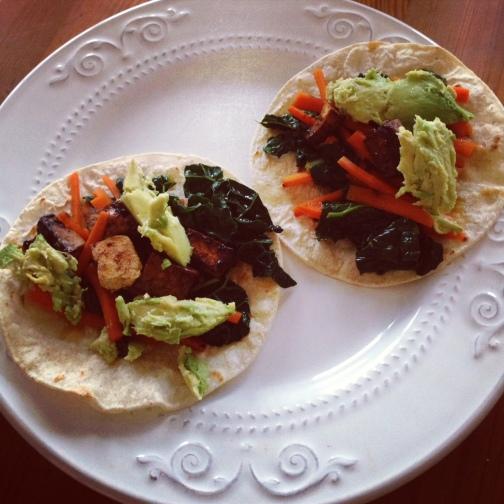 Spicy Koren Tofu Tacos | kalelovesquinoa